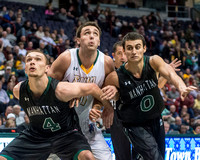NCAA Basketball: Manhattan at Siena