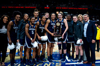 NCAA BASKETBALL: MAR 31 Div I Women's Championship - Quarterfinals - Connecticut v Louisville