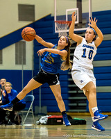 Queensbury vs Saratoga Springs Girls Basketball 11/25/2013